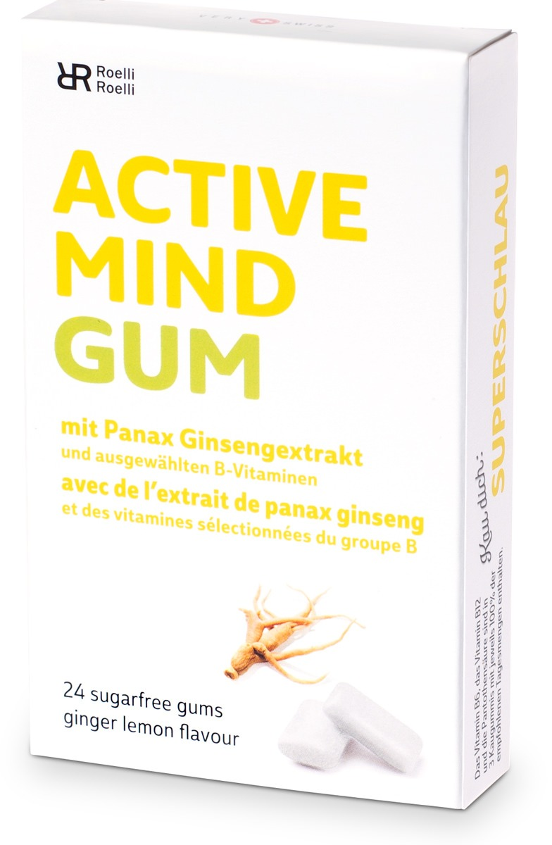 Active Mind Gum by Roelli Roelli