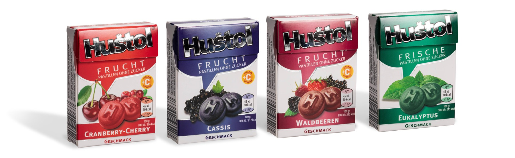Hustol Cranberry-Cherry, Cassis, Waldbeeren, Eukalyptus by roelli roelli.